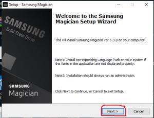 Samsung Magician Software