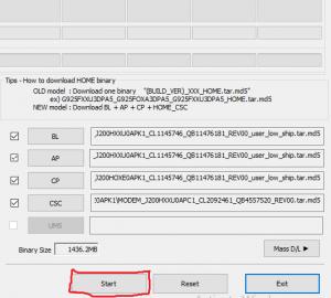 Samsung Firmware Update Tool
